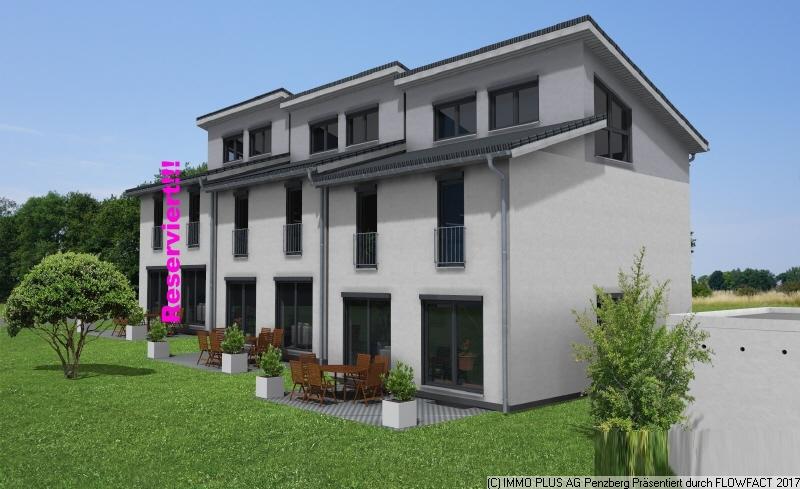 Immobilienmakler Penzberg 3542 kurz suedansicht des reihenhauses jpg